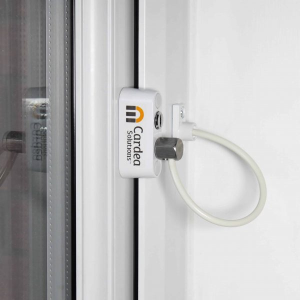 Cardea Premium Window Restrictor - Closed