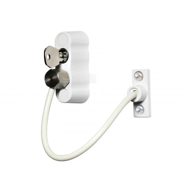 Cardea Premium Window Restrictor - White Background